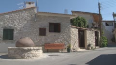 Cyprus, Laneia, small village, old houses Stock Footage