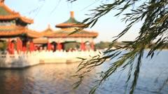 Beautiful Scene of Beijing: Beihai Park Stock Footage