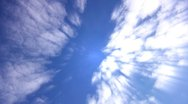 Stock Video Footage of Timelapse Heavenly Sky Clouds 67 Loop