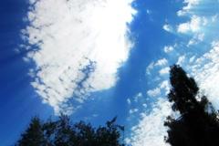 Stock Video Footage of Timelapse Heavenly Sky Clouds 114 Loop SD wide