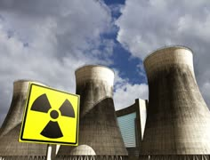 4K Nuclear Station Cooling Towers 02 Stock Footage