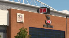 The DW Stadium Stock Footage