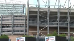 St James' Park Sports Direct Arena Stock Footage