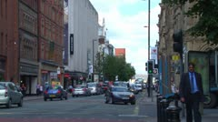 Deansgate Stock Footage