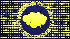Cloud Speech Balloon 1 - HD1080 - stock footage