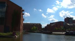 Castlefield Manchester Stock Footage