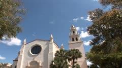 Knowles Memorial Chapel Stock Footage