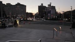 Grand Army Plaza Stock Footage