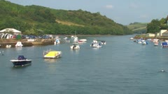 Looe Estuary Stock Footage