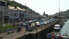 West and East Looe Stock Footage