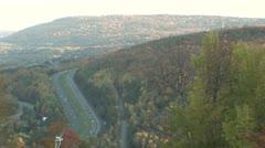 Mountain Autobahn Stock Footage
