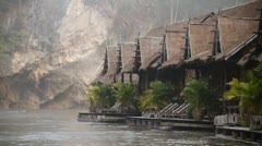 River Kwai 09 Stock Footage