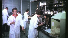WOMEN SCIENTISTS Lab Laboratory Science 1960s Vintage Industrial Movie Film 1193 - stock footage