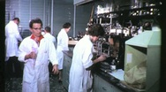 Stock Video Footage of WOMEN SCIENTISTS Lab Laboratory Science 1960s Vintage Industrial Movie Film 1193