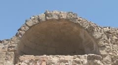 Salamis, ancient Greek city-state, Cyprus Stock Footage