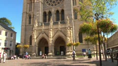 Stock Video Footage of Truro Cathedral
