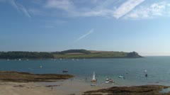 St Mawes Village Stock Footage