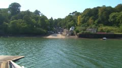River Ferry Stock Footage
