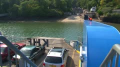 King Harry Ferry Stock Footage