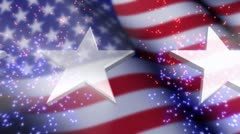 Patriotic Celebration Stock Footage