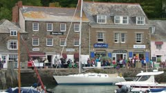 Padstow Quayside Stock Footage