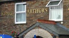 King Arthur's Arms Inn Stock Footage