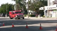 Stock Video Footage of Fire Department Paramedics rush to scene - Pomona, CA - Nov 5, 2011