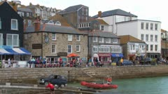 St Ives Harbor Stock Footage