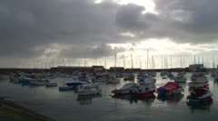 Penzance Harbour Stock Footage