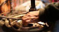 Tire Repair Stock Footage