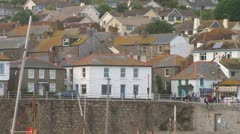 Mousehole Harbour Stock Footage
