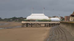 Burnham-on-Sea Pier Stock Footage