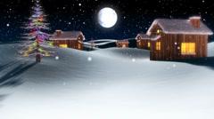 Christmas Town - stock footage