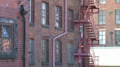 Manchester Mill Stock Footage