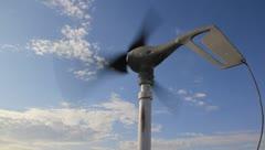 Wind turbine - stock footage