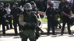 Stock Video Footage of Neo-Nazi Rally NSM - Pomona, CA - Nov 5, 2011