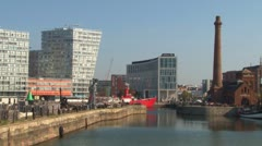Liverpool Waterfront Stock Footage