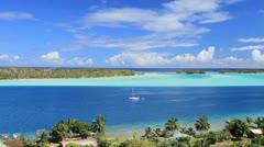 Bora Bora - stock footage