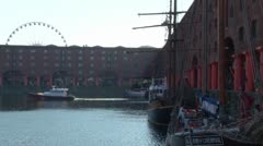 Albert Dock Stock Footage