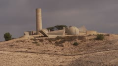 Monument to the Negev Brigade 1 Stock Footage