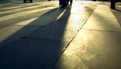 Human shadow ( Series 4 - Version from 1 to 12 ) Stock Footage