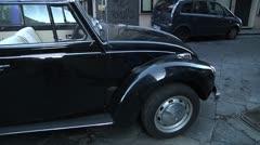 VW Beetle, The Beetle - Volkswagen, Volkswagen Bug, The VW Beetle Stock Footage