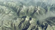 Mountain aerial Stock Footage