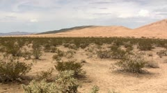 Kelso Dunes, Mojave National Preserve, California Stock Footage