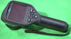 Flir Thermal imaging camera Stock Footage