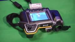 Flir Thermal imaging camera. Stock Footage