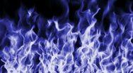 Stock Video Footage of Blue Flame 11 - LOOP - HD1080