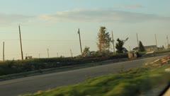 Aftermath of Joplin, Missouri Tornado 3 Stock Footage