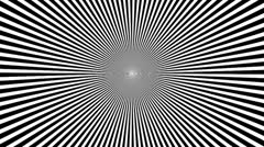 Black & White Psychedelic Spinning Loop 01 24 fps - stock footage