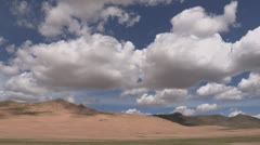 Mongolia: Rolling Clouds Stock Footage